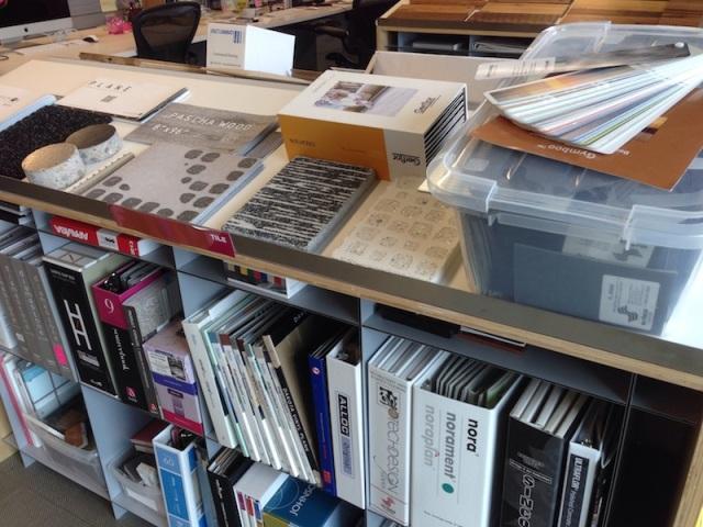 Tile Material Samples