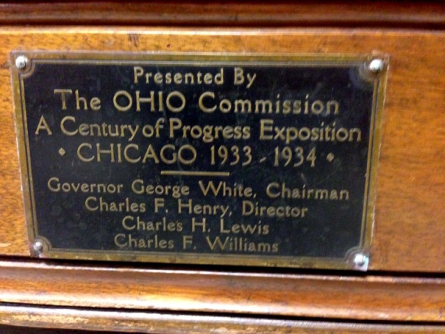 Century of Progress Chair Detail