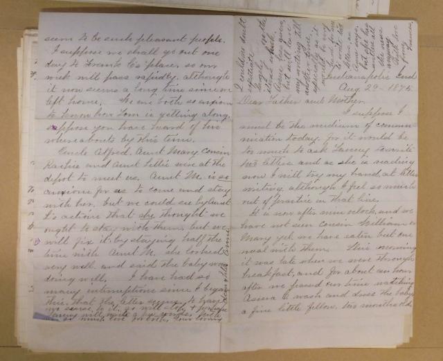 Frances Janney Letter