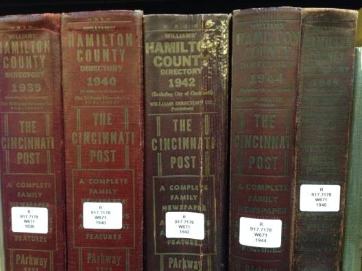 Hamilton County Directories