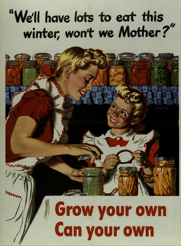 WWII Poster Grow Your Own