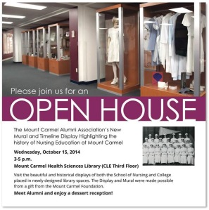 Timeline Open House Announcement ©Mount Carmel Health System