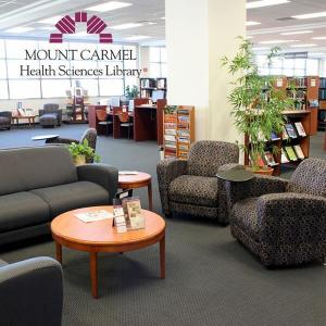 Library sitting area ©Mount Carmel Health System