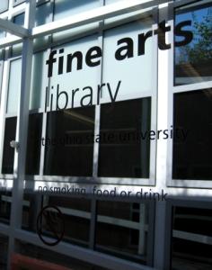 The Ohio State University Fine Arts Library