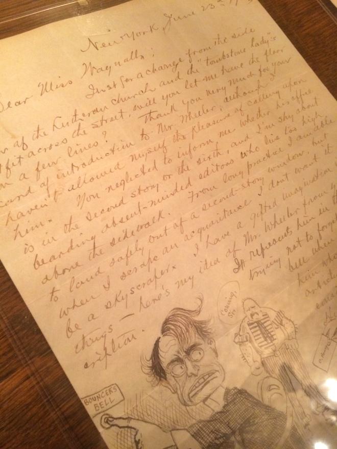 O. Henry letter