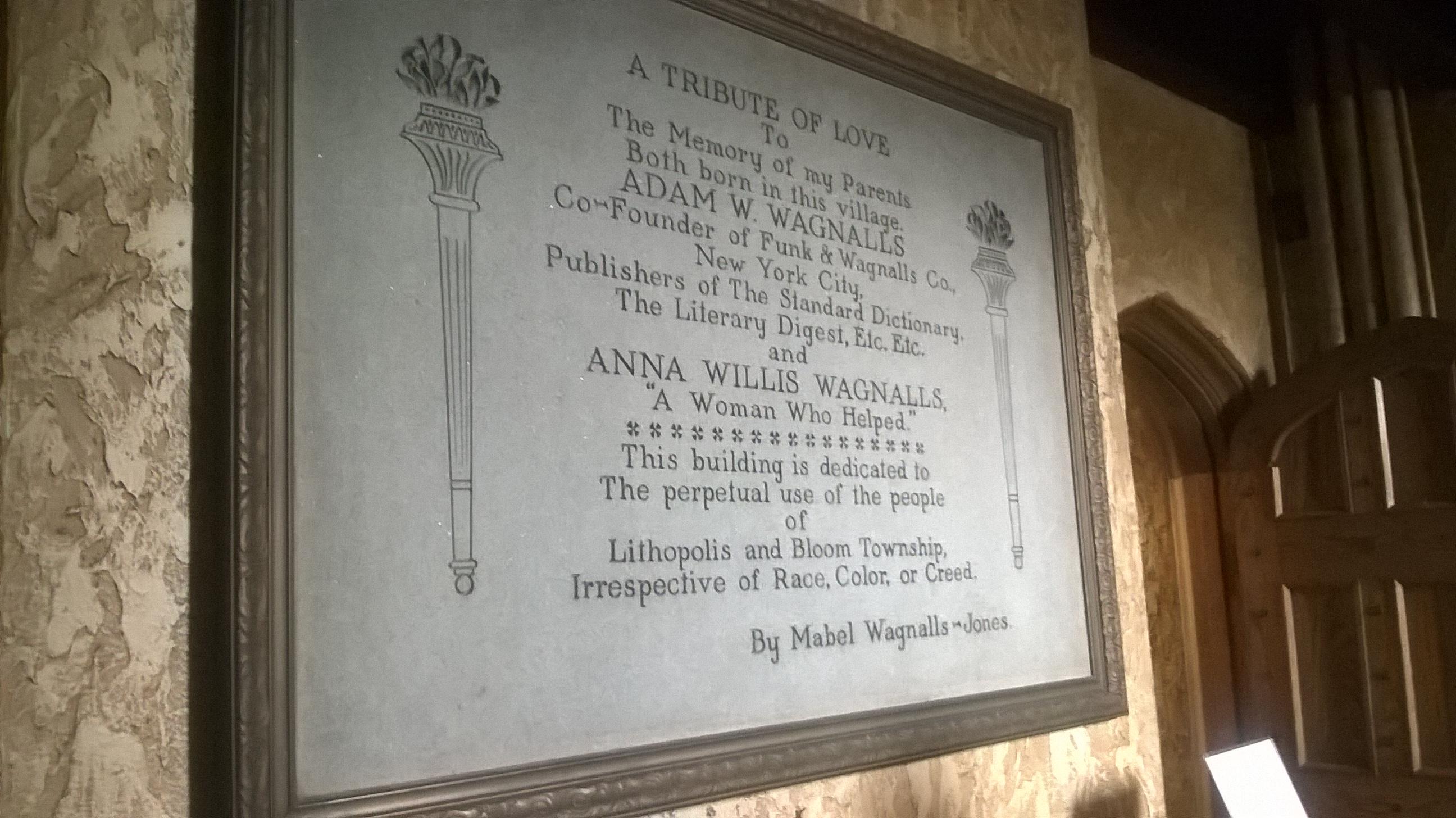 The Wagnalls Memorial – Cbus Libraries