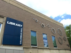 Columbus State Community College Library Exterior