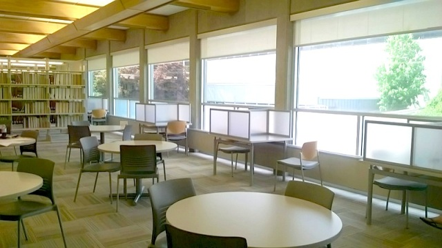 CSCC Library Third Floor Study Area 2