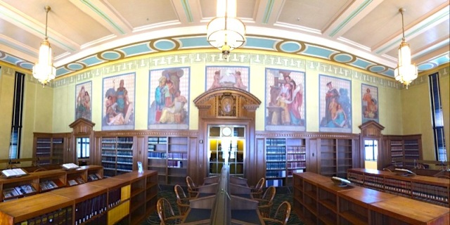Reading Room Panorama