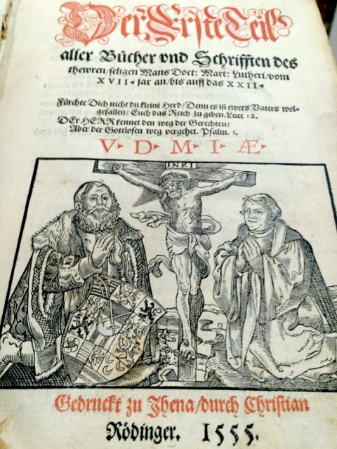 1555 Complete works of Martin Luther, Jena edition