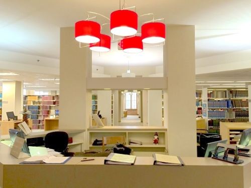 Beautifully Lit and Welcoming Reference Desk