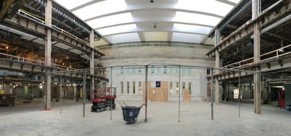 A bigger, more open main area