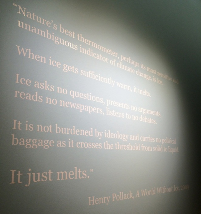 Henry Pollack Exhibit Quote