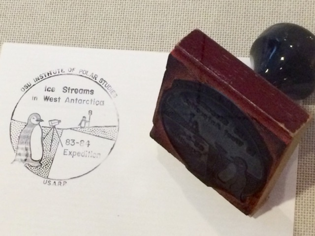 Original Byrd Poloar Stamp