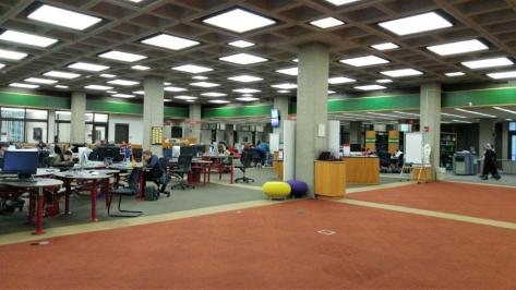 Mudd Center's main floor
