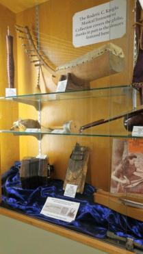 Instruments on display