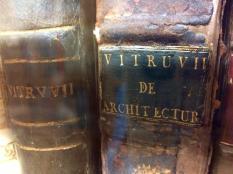 Rare books in the art library