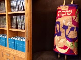 Library Torah and custom shelving